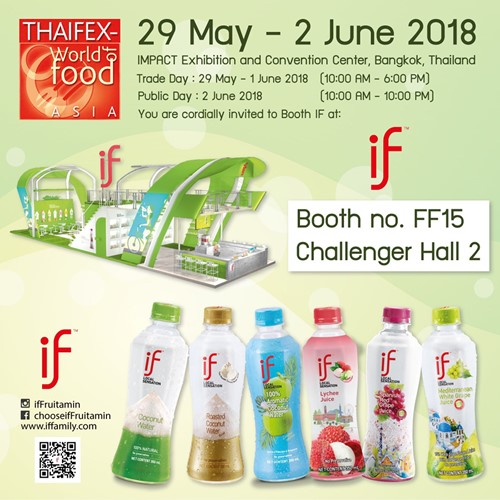 Thaifex World Food Asia 2018
