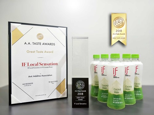IF Local Sensation Won A.A. Great Taste Award